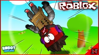 ROBLOX Indonesia #148 Robot Simulator | So a Robot in BANTING Rame