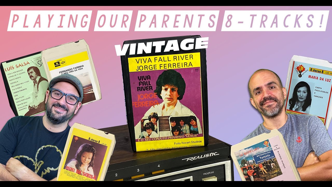 Playing Our Parents 8-Tracks!
