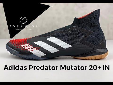 adidas Predator Mutator 20.1 Firm Ground Cleats Black.