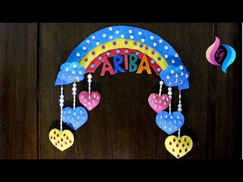 rainbow-wall-hanging---handmade-wall-hanging-ideas---easy-craft-ideas-for-kids-to-make-at-home