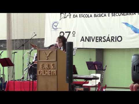 Cerimônia do 37º Aniversário da Escola Básica com PE da Calheta