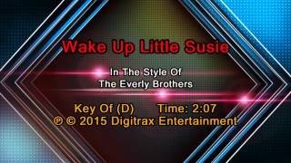 The Everly Brothers - Wake Up Little Susie (Backing Track)