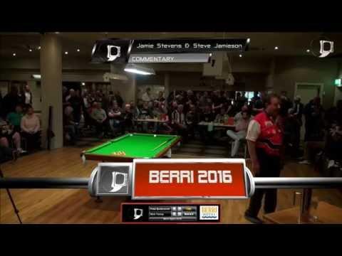 Nick Young v Peter Butterworth | FINAL | Berri Open 8 Ball 2016