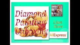 Diamond Painting Unboxing - Baby Pooh and Tigger - Lijun Store on AliExpress
