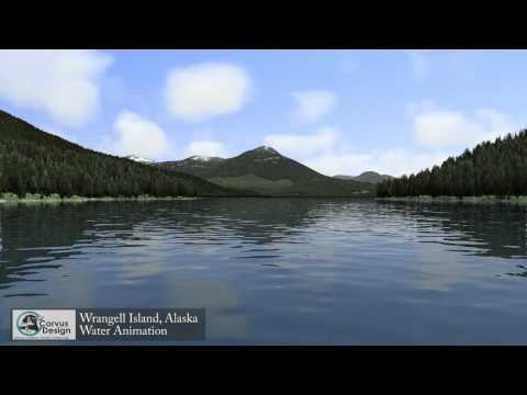 Wrangell Island Water Animation (Full)