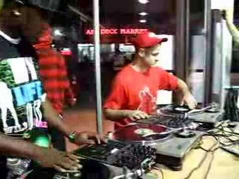 DJ K-Razor & DJ ROB RIGGS (formerly DJ TRIPPIN) Workmens Scratch Session