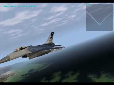 F-16 Multirole Fighter- Mission: Clear Skies (Commented Gameplay In English) |