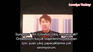 SungGyudan Lovelyz mesajı Türkçe Altyazı / Turkish Sub