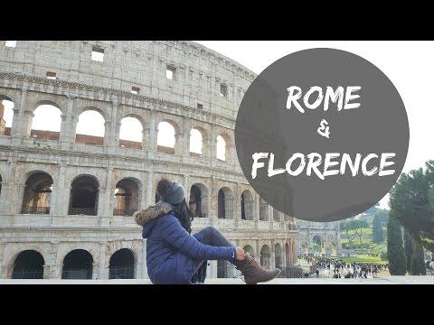 Winter Travel in Italy // Rome & Florence