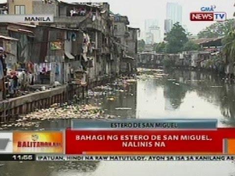 BT: Bahagi ng Estero de San Miguel sa Manila, nalinis na