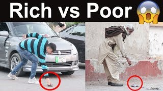 Dropping Wallet | Rich vs Poor Social Experiment thumbnail