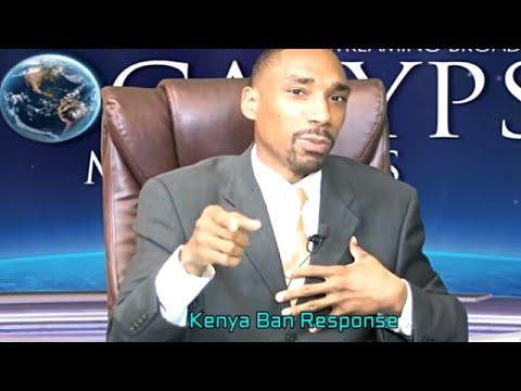 Jeremiah Davis Kenya Ban Response