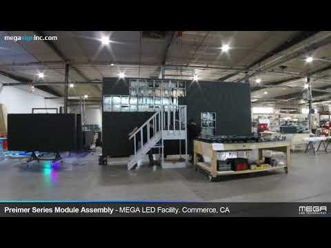[MEGA LED] Premier Series 9x19 Outdoor Billboard Display Assembly