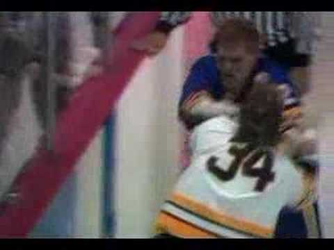 Ulf Samuelsson Hit Cam Neely 1991 Conference Final Game 3