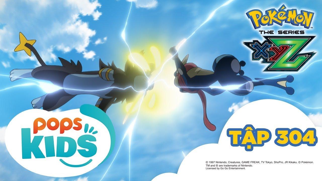 Pokémon Tập 304 - Satoshi và Alan! Gekkoga tái đấu Lizardon Mega - Hoạt Hình Pokémon S19 XYZ