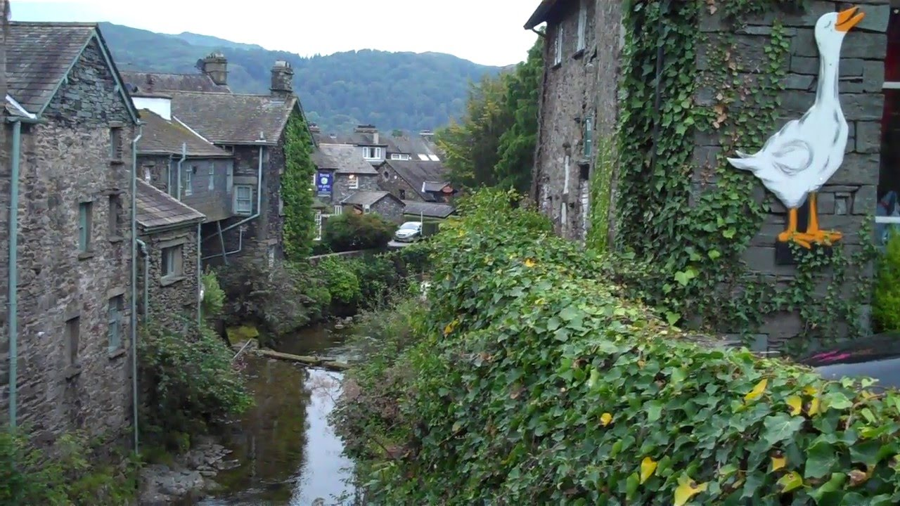Bien-aimé Ambleside, Lake District, England - YouTube XU02