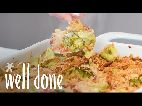 How To Make Pasta-Chicken-Broccoli Bake | Recipes | Well Done