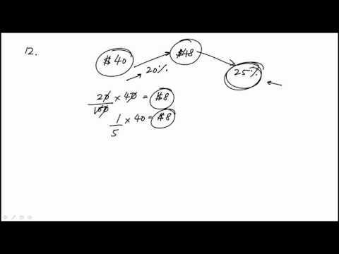 Arithmetic Problem 12 REVISED GRE MATH REVIEW OFFICIAL