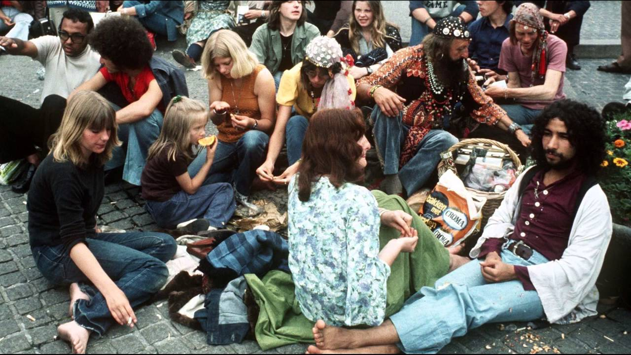 the hippie movement of 1960 youtube