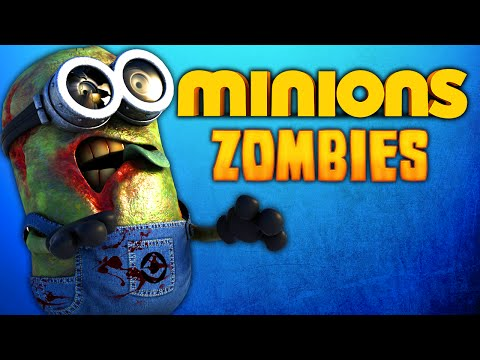 CRAZY MINIONS ZOMBIE MAP (Call of Duty: Zombies)