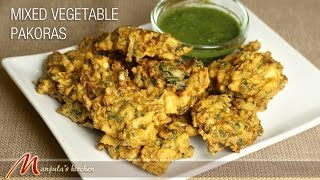 Mixed Vegetable Pakoras (Spicy Indian Fritters) by Manjula