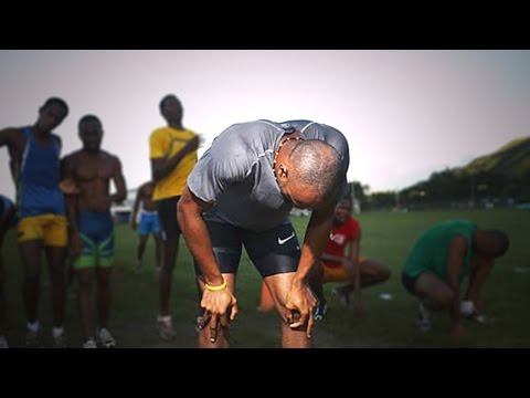 Asafa Powell 300m Training