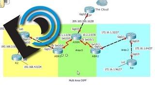 Multiarea OSPF for the CCNA - Part 3 Summarize