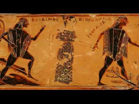 Geranos Dance On The Franois Vase Youtube