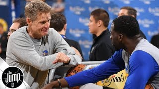 Steve Kerr possibly caught on camera saying he