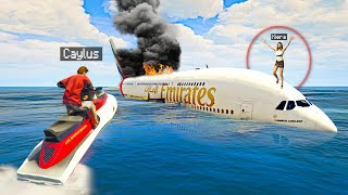 I SAVED My GIRLFRIEND From A PLANE CRASH In GTA 5 RP..