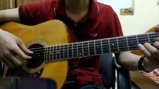 Người ở đừng về guitar