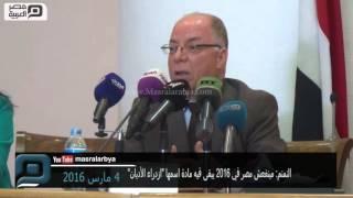 مصر العربية | النمنم: مينفعش مصر في 2016 يبقى فيه مادة اسمها