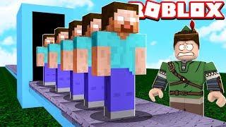 MINECRAFT HEROBRINE FACTORY IN ROBLOX!! (Minecraft Tycoon)