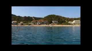 остров корфу в греции видео