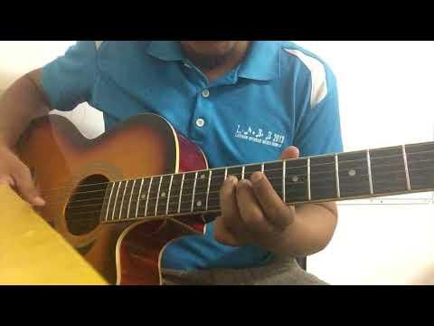 Fara Hezel feat Aiman Tino - Terasa Cinta (Gitar Tutorial Lead Into)