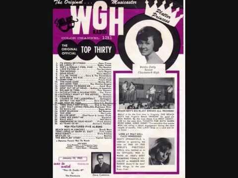 WGH 1310 Newport News VA  1960s  Larry O'Brien