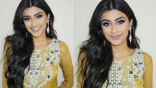 Hi my loves! Today I did a dramatic diwali look using silver glitte...