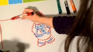 ASMR ; Drawing - on whiteboard