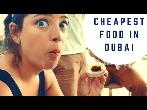 FOUND THE CHEAPEST FOOD IN DUBAI