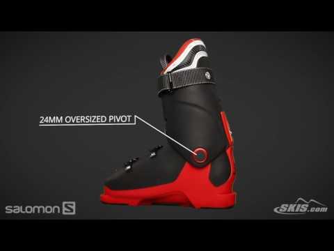 2017 Salomon X Max 100 Mens Boot Overview by SkisDotCom
