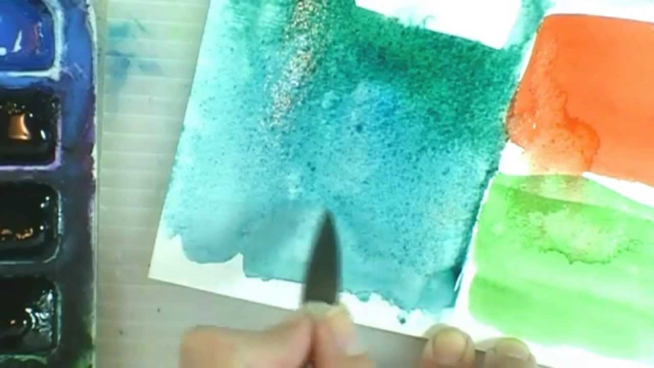 how to paint in watercolor how much water to use youtube. Black Bedroom Furniture Sets. Home Design Ideas