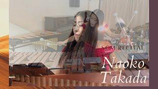 Naoko Takada Southern California Marimba Concert 2021