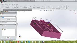 Обучение программированию в модуле Imachining 3D SolidCAM