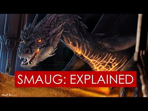 Tolkien's Dragons: Smaug EXPLAINED l Beowulf & Fafnir [Lord of the Rings l The Hobbit]