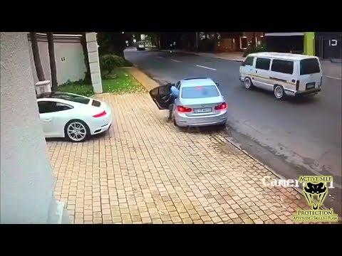 Carjacking Victim Sacrifices his Porsche to Escape   Active Self Protection