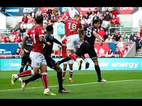 Bristol City Vs Derby County - 4-1 !@!Sexy football from the mighty Reds!!  16/09/17