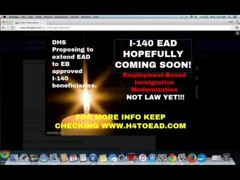 The I-140 EAD myth and confusion on revocation of I-140 after 180 days.