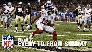Watch Every Touchdown from Sunday (Week 8)   NFL RedZone