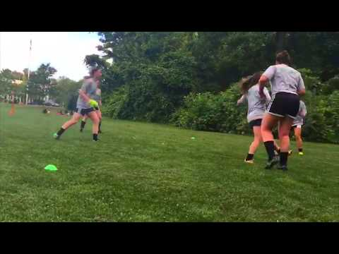 Football Conditioning - 3v3 and Sprints With Minimum Rest