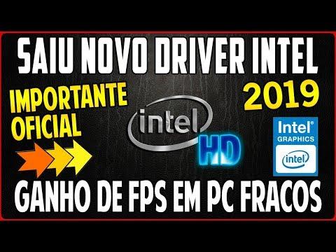 Saiu Novo Driver Para Intel HD Graphics (Ganho de FPS em Jogos) e Otimização Gerais do Sistema